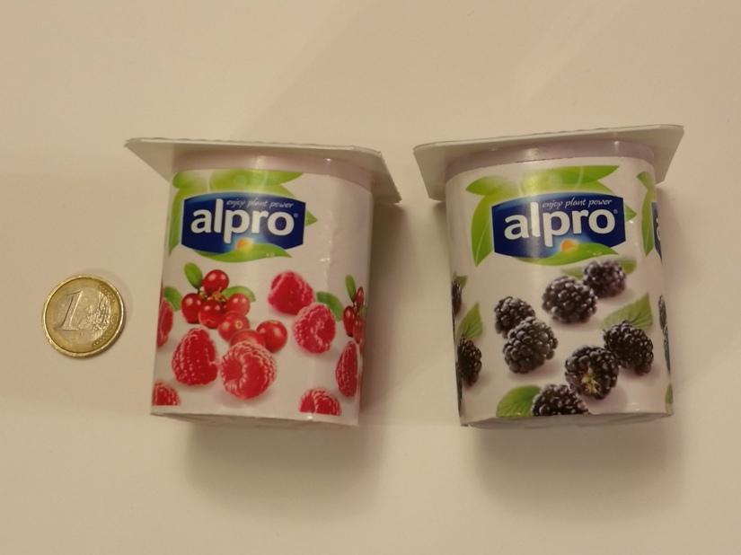 Alpro Raspberry-Cranberry & BlackberryYogurt