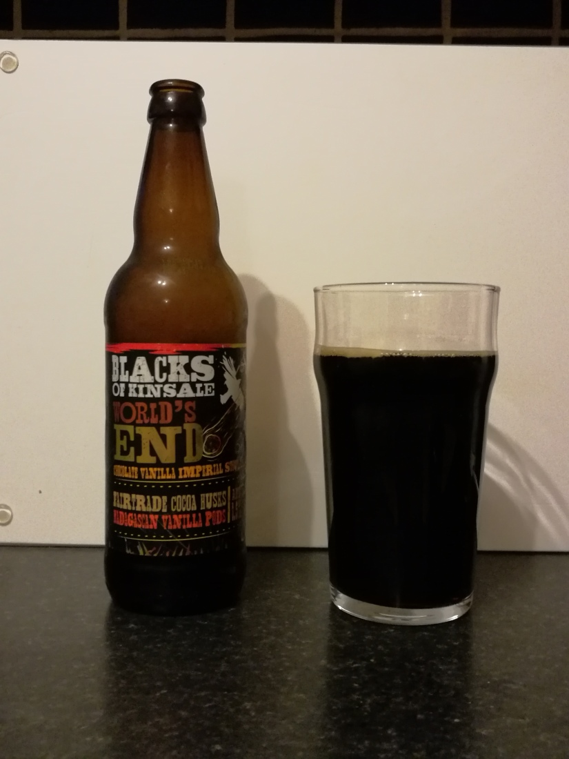 Blacks of Kinsale – Worlds End Chocolate Vanilla Imperial Stout